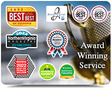 Virginia Award Winning Service