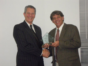 Mike Appleton named 2011 Business Person of the Year – awarded by The Fauquier County Chamber of Commerce