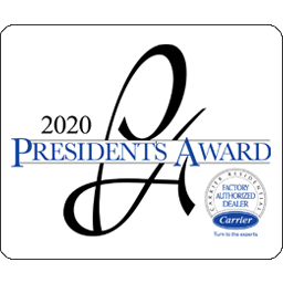 Appleton Campbell Plumbing 2020 Presidents Award
